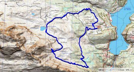 mapa arco natural