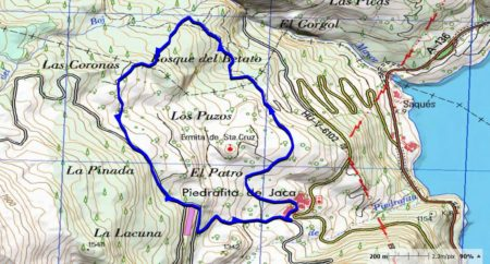 mapa betato